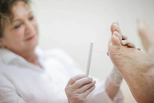 badanie stopy cukrzycowej